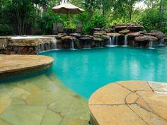 Swimming Pool Waterf