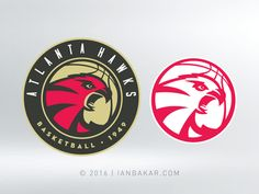 Atlanta Hawks designed by Ian Bakar. Connect with them on Dribbble; Bandidos Motorcycle Club, Motorcycle Clubs, Branding Design, Logo Design, Tiger Logo, Atlanta Hawks, Creative Art, Sports Logos, Nba