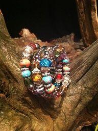 """Color Wheel"" coil braceletNEW from Premier Designs 2013 Spring collection"