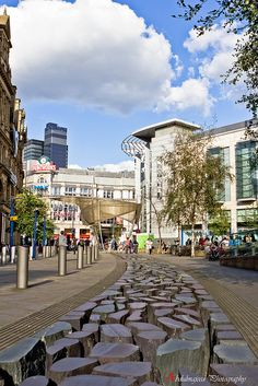 City Centre of Manchester, England Shared by Motorcycle Fairings - Motocc Sierra Nevada, Portsmouth, Malaga, Cardiff, Brighton, Cool Places To Visit, Places To Go, Midland Hotel, Kos