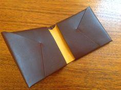 THE TWEED PIG: Bond & Knight - The Original Origami Wallet