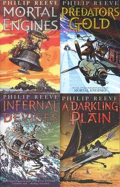 Predator Cities is the title of a tetralogy, sometimes called the Predator Cities Quartet, consisting of four novels, Mortal Engines (GOT), Predator's Gold (GOT), Infernal Devices (. ), and A Darkling Plain (. ), written by the British author Philip Reeve. Originally known as the Mortal Engines Quartet, it was known in the United States as the Hungry City Chronicles.