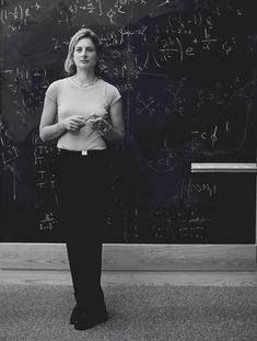 Lisa Randall, American theoretical physicist and a leading expert on particle physics and cosmology.