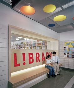 Library Design | Children's Library | PS 1 Bergen School Library | Brooklyn, NY