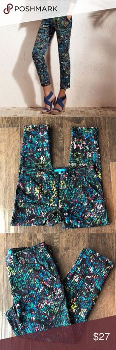 """DEREK LAM FOR DESIGN NATION Cropped Pants 
