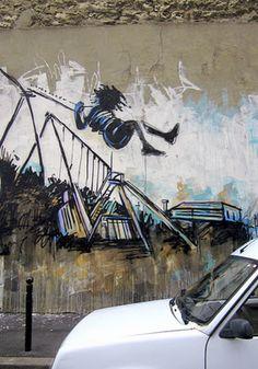 Alice Pasquini   #street #art #graffiti