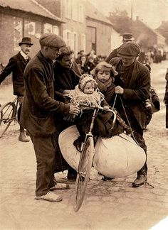 Vluchtelingen uit Belgie 1914