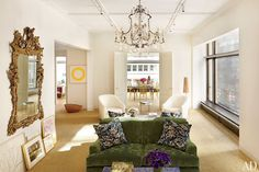 Aerin Lauder's new Jacques Grange designed home featured in the June 2012 issue of Architectural Digest