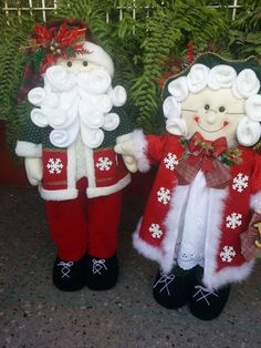 Mr. & Mrs. Cozy Christmas, Country Christmas, All Things Christmas, Handmade Christmas, Christmas Time, Christmas Stockings, Christmas Wreaths, Felt Ornaments, Holiday Ornaments