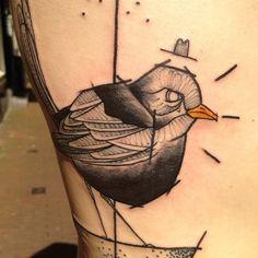@sven_von_kratz | Pissed off black bird #tattoo | Webstagram - the best Instagram viewer