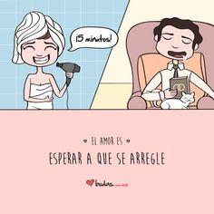 El amor es: Esperar a que se arregle/ Bodas.com.mx #quote #frase #amor #frasescortas