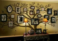 Family Tree Wall Decal, #Home_Design