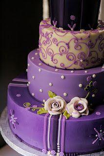 .: Decoração de Casamento - Lilás/Roxo Mais