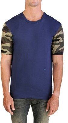 368d282d Christian Dior Men's Camouflage Sleeve T-shirt Blue. Camouflage, Tank Man,  Christian