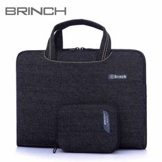 Hot 14 15.6 inch laptop bag handbag shoulder bag protective case pouch cover for macbook pro air reina hp sony