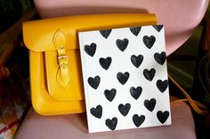Use foam board and a wooden block to DIY this stamp.