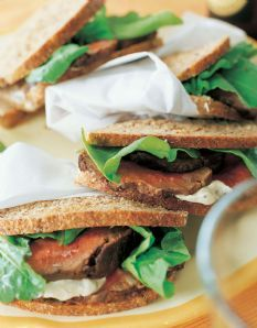 Barefoot Contessa - Filet of Beef Sandwiches