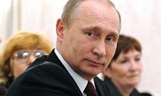 Russian president Vladimir Putin. Photograph: Mikhail Klimentyev/AP