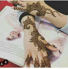 Arabic henna                                                                                                                                                                                 More