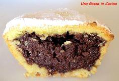 interno bocc Italian Pastries, Italian Desserts, Mini Desserts, Sicilian Recipes, Italian Cookies, Sweet Tarts, Christmas Baking, Cake Cookies, Cupcakes