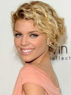 Wavy Hairstyles | celebrity short curly hairstyles ? In this curly short hairstyles ...