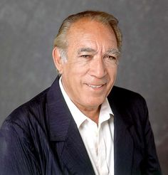 Anthony Quinn-Mother (Mexican) & Father (Irish)