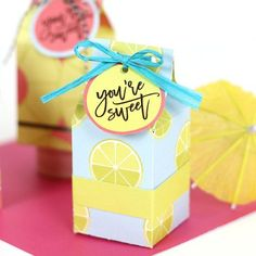 DIY Mini Milk Carton Treat Boxes