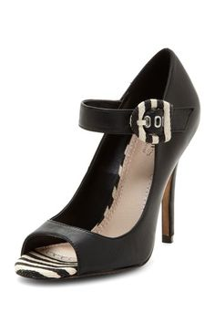 Tundra Peep Toe Pump by Charles By Charles David