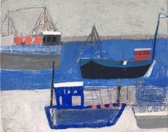 Penzance Cornwall, Blue Boat, Seascape Paintings, In The Tree, Source Of Inspiration, Summer Flowers, Fishing Boats, Pony, Terrier