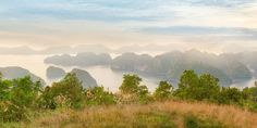 View of Halong Bay, Vietnam by sweet spot on Creative Market