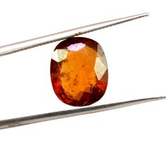 5.6ct Natural Fine Gem Quality Transparent Ceylon Hessonite Garnet Gemstone