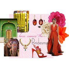 pretty bridesmaid, created by hidden-fashionista on Polyvore