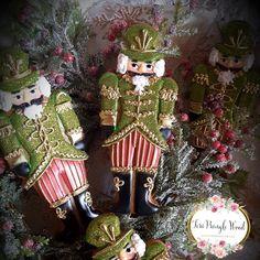 Christmas cookies, nutcracker cookies, gingerbread cookies, keepsake cookie gift