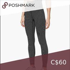 Nwot lululemon stripe wunder under tight Excellent condition   Questions? Leave a comment below lululemon athletica Pants & Jumpsuits Leggings