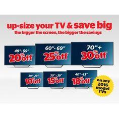 Save 10-30% OFF on TV - The Bigger the Screen, The Bigger the Savings @ Noel Leeming - Bargain Bro