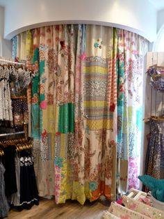 Accessorize Oxford Street - Patchwork Curtains!