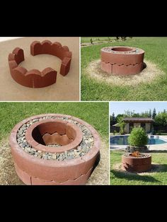 6 fire pits you can make in a day outdoor decorating projects, 31 diy outdoor fireplace and firepit ideas for the home diy, fire pit project (you can do in one hour!), 57 inspiring diy outdoor fire pit ideas to make s'mores with your family, Make A Fire Pit, Fire Pit Uses, Large Fire Pit, Easy Fire Pit, How To Make Fire, Outdoor Fire, Outdoor Living, Outdoor Decor, Outdoor Ideas