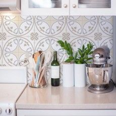 Adesivos de Parede para Cozinha   Grudado