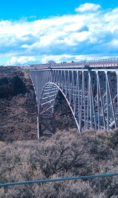 rio grande gorge bridge. taos, nm.