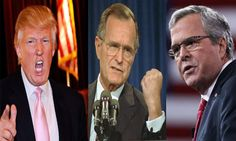 Trump uses Jeb's dad's 'Willie Horton' tactic to attack him, libs run to Bush's defense