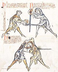Europeans had martial arts. Dude!