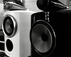 Black and white Speakers, Bluetooth, Black And White, Black N White, Black White, Loudspeaker