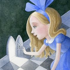 Tory and Norman Taber   ILLUSTRATION | Alice in Wonderland