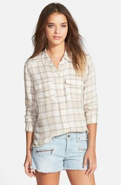 PAIGE Denim | Trudy Shirt in Sea Moss
