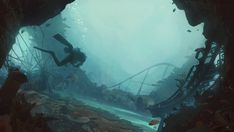 ArtStation - Abandoned Theme Park, Lukas Esch
