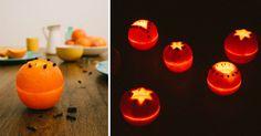 Krásná aroma lampa z pomeranče (Foto i video-návod) | Čarujeme