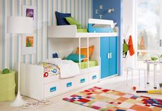 Rimobel Young World H.140 bunk bed for kids room