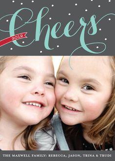 Winter Cheer Christmas greeting card by www.elli.com