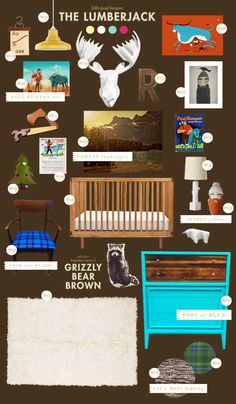 the lumberjack! LOVE the rustic Wilderness theme! Bedding is GREAT!