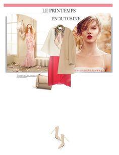 """Autumn Blush"" by mahora ❤ liked on Polyvore featuring Été Swim, Givenchy, Hanita, Emilio Pucci, Valentino, Zara and Miss Selfridge"